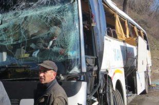 Аутобус са српским војницима слетео у понор од 15 метара!