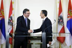 ДСС: Србија има право да зна шта су Вучић, Рама и Звиздић предали аустријском премијеру