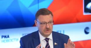 Косачов: Видљива недоследност у поступцима америчке администрације