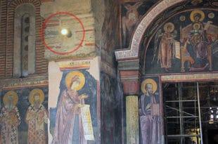 Екуменистичко-унијатско папска секта у СПЦ од манастира Грачанице прави галерију слика и уништава светињу!