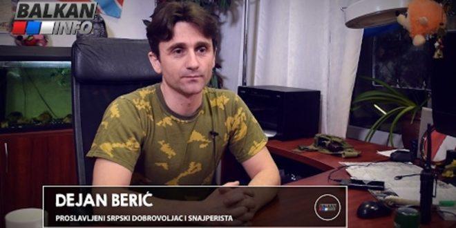 ИНТЕРВЈУ: Дејан Берић – Вучић је болестан човек, лажов и највеће зло за српски народ! (видео)