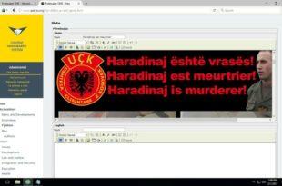 """""""Харадинај је убица"""" на 20 језика"""
