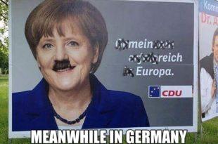 Унутар ЕУ противници ЕУ све јачи, струја око Меркелове жели Четврти Рајх