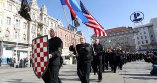 Амбасада САД у Хрватској: Одбацујемо неонацистичке и проусташке ставове изражене за време демонстрација у Загребу 3