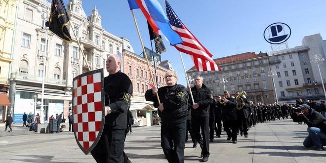 Амбасада САД у Хрватској: Одбацујемо неонацистичке и проусташке ставове изражене за време демонстрација у Загребу 1