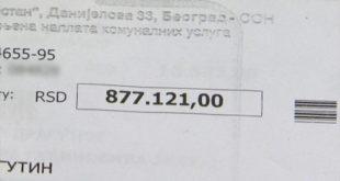 Нови шок: Експлодирао и рачун за воду - 24.000 РСД 2