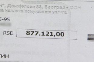 Нови шок: Експлодирао и рачун за воду - 24.000 РСД 9
