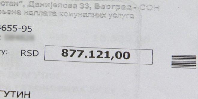 Нови шок: Експлодирао и рачун за воду - 24.000 РСД
