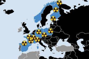 Детектован радиоактивни облак из непознатог извора изнад Европе