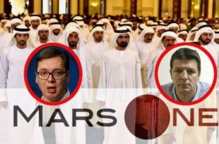 Шеик Мухамед бин Зајед представио пројекат изградње Београда на Марсу, браћа Вучић први становници