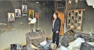 ЧУДО У СРЕБРЕНИЦИ: У стану Савића све изгорело, иконе остале нетакнуте!