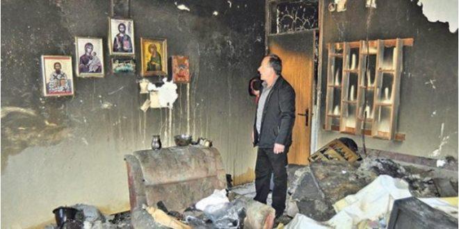 ЧУДО У СРЕБРЕНИЦИ: У стану Савића све изгорело, иконе остале нетакнуте! 1