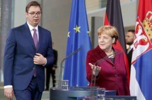 АНГЕЛА МЕРКЕЛ: Разговори са Србијом око уласка у ЕУ тек за 10 година!