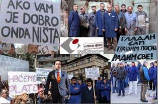 Радници пропалих државних предузећа у Нишу: Нећемо да штрајкујемо глађу, већ смо гладни! 8
