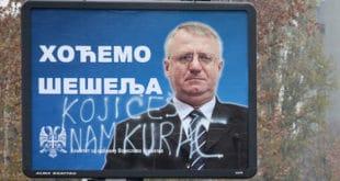 Можда је Бошко смрдљиви љотићевац али ти си Шешељу сасвим сигурно комуњарско говно југословенског ДБ-а 12
