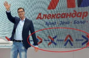 Зашто Вучић у кампању користи прикривену симболику бодљикаве жице састављену од иницијала његовог имена? (фото) 14