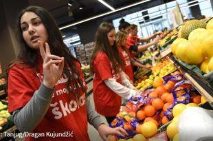 ПО ИНСТРУКЦИЈИ ВУЧИЋА! Средњошколци ће радити у МАКСИ супермаркетима за 5,000 динара!