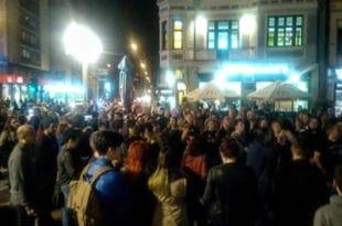 Одржан протест и у Нишу, народ најављује да не одустаје, протести се настављају и сутра 8