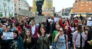 Новосадски студенти траже смену чланова РИК, разрешење Маје Гојковић и смену руководства РТС-а 5