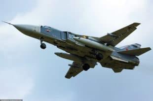 """Русија испоручила Сирији десет """"дубоко модернизованих"""" бомбардера Су-24М2"""