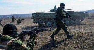 Армија Доњецке Републике извела тактичку војну вежбу на више полигона 10