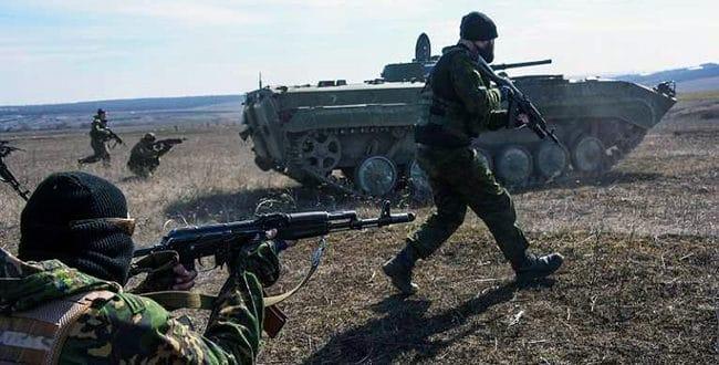 Армија Доњецке Републике извела тактичку војну вежбу на више полигона 1