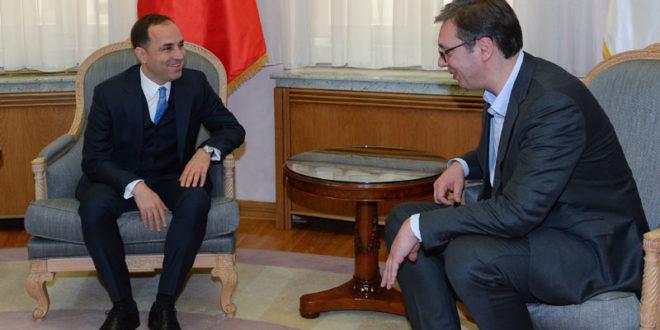 ЛУД И ЗБУЊЕН: Вучић оптужује Турке да раде на стварању Велике Албаније и позива Ердогана у посету Србији?!