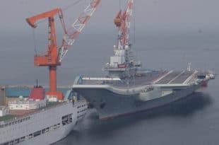 Кина изградила други носач авиона (видео) 3