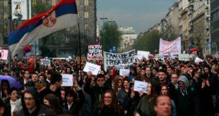 Протести широм Србије после избора: Младост се дигла на устанак