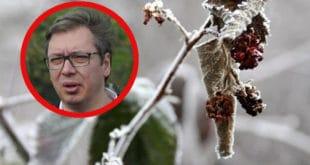 Чим БАКСУЗ добије изборе Србију сашије нека пропаст! Род у малињацима и воћњацима уништен због снега и зиме 10