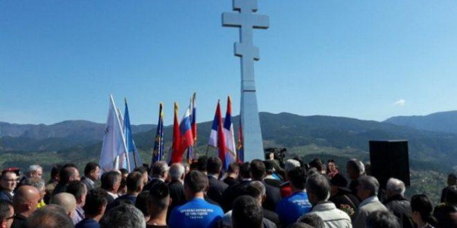 У Вишеграду откривен крст Русима погинулим у редовима ВРС