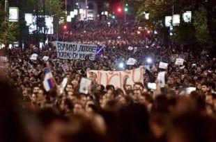 """""""Отаџбина"""": У потпуности подржавамо протесте студената и омладине широм Србије"""