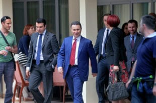Груевски се од скопског марионетског режима склонио у Мађарску и затражио азил