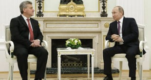 Путин пожелео Иванову да се ситуација у Македонији развија у складу са њеним Уставом
