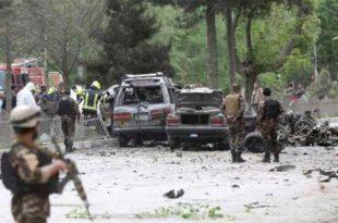 Напад на конвој НАТО-а у центру Кабула (видео)