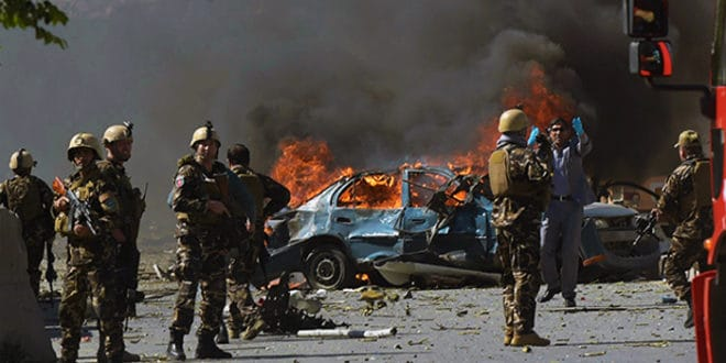 Камион пун експлозива у Кабулу убио 90, а ранио 380 људи - напад испред амбасаде Немачке 1