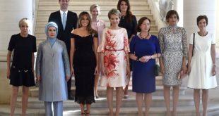 """Скупиле се жене лидера НАТО земаља! Обратите пажњу на """"жену"""" у горњем левом углу"""