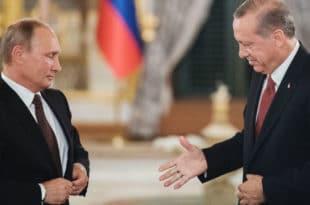 Путин и Ердоган спремни за реализацију идеја