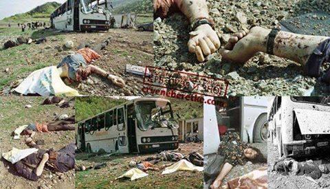 На данашњи дан 1999. НАТО убио 20 и ранио 43 особе у аутобусу у близини Пећи (фото 18+)