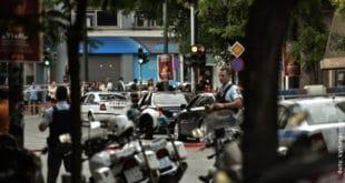 Терористички напад на бившег грчког премијера (видео)