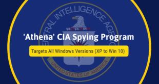 WikiLeaks раскринкао технологију Athena помоћу које CIA улази у туђе компјутере 5