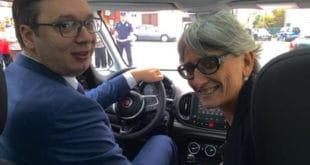 """ВОЗИ МИШКО! У октобру ћемо са италијанским партнерима разговарати о будућности """"Фијата"""" у Србији"""