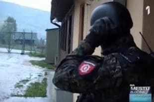 Обука специјалистичке јединице ЖАНДАРМЕРИЈЕ (видео) 1