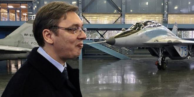 Знате ли зашто је Вучић плакао код Путина? Руси му не дају авионе без потврде о крајњем кориснику 1