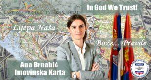 Како бре лудаци Брнабићка која има двојно држављанство уопште може да обавља високу државну функцију? 8