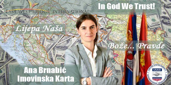 Како бре лудаци Брнабићка која има двојно држављанство уопште може да обавља високу државну функцију? 1