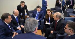 Додик се у Петербургу срео са Путином и позвао га у Бањалуку на отварање Руског православног центра
