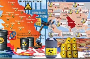 ОПАСНО СКРИВАЊЕ: Србија постаје НУКЛЕАРНА ДЕПОНИЈА где ће се складиштити отпад из Немачке и муниција НАТО?!