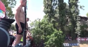 Скокови са Градског моста Бањалука 2017 (видео)