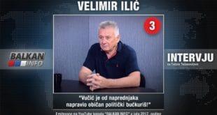 ИНТЕРВЈУ: Велимир Илић - Вучић је од напредњака направио обичан политички бућкуриш! (видео) 9